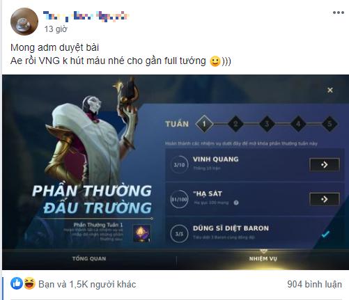 """Tốc Chiến tặng miễn phí game thủ Việt hàng chục tướng và skin, game thủ khen VNG """"hết hút máu rồi"""" - Ảnh 7."""