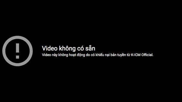 Fan vừa đăng tải clip live Hồng Nhan của Jack đã bị dính gậy bản quyền từ công ty của K-ICM? - Ảnh 2.