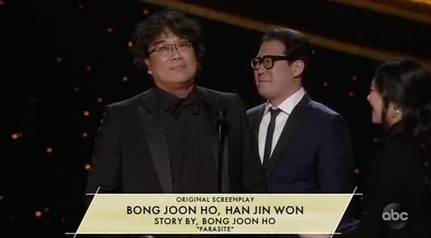 Parasite và cú ăn 3 lịch sử tại Oscar 2020: Giải to giải nhỏ đều ẵm trọn, đến chú Bong Joon Ho còn stress - Ảnh 2.
