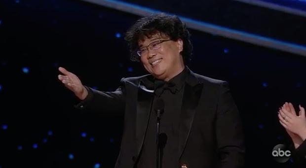 Parasite và cú ăn 3 lịch sử tại Oscar 2020: Giải to giải nhỏ đều ẵm trọn, đến chú Bong Joon Ho còn stress - Ảnh 4.