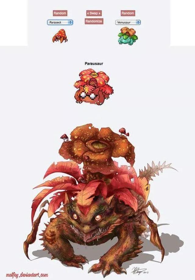 Những màn kết hợp kỳ lạ nhất trong tưởng tượng của fan hâm mộ Pokemon - Ảnh 9.