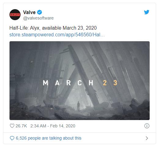 Phần tiếp theo của Half-Life ấn định ngày ra mắt, game thủ có thể đặt mua ngay từ bây giờ trên Steam - Ảnh 1.