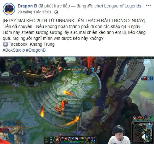 LMHT: Dragon B hoàn thành thử thách 2 ngày leo từ unrank lên Thách Đấu, cộng đồng lại được phen cãi nhau ỏm tỏi - Ảnh 1.