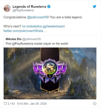 Runeterra Legend: The world's top 1 Gamer turned out to be a professional Hearthstone player - Photo 3.