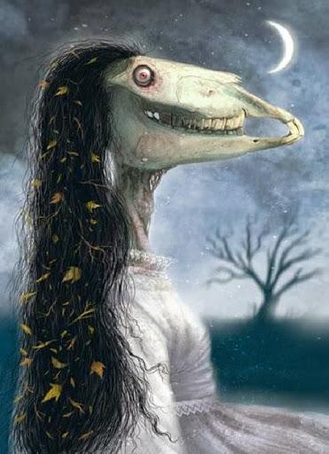 Truyền thuyết ma quái về La Cegua - yêu nữ mặt ngựa chuyên đứng đường bẫy người - Ảnh 1.