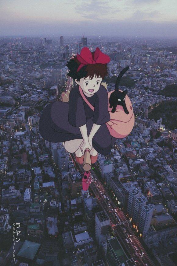 Từ Goku cho tới Naruto đều chân thực một cách khó tin khi yếu tố 2D được đặt trên bối cảnh thực tế - Ảnh 11.