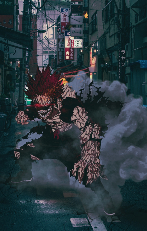 Từ Goku cho tới Naruto đều chân thực một cách khó tin khi yếu tố 2D được đặt trên bối cảnh thực tế - Ảnh 9.