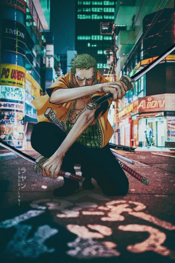 Từ Goku cho tới Naruto đều chân thực một cách khó tin khi yếu tố 2D được đặt trên bối cảnh thực tế - Ảnh 24.