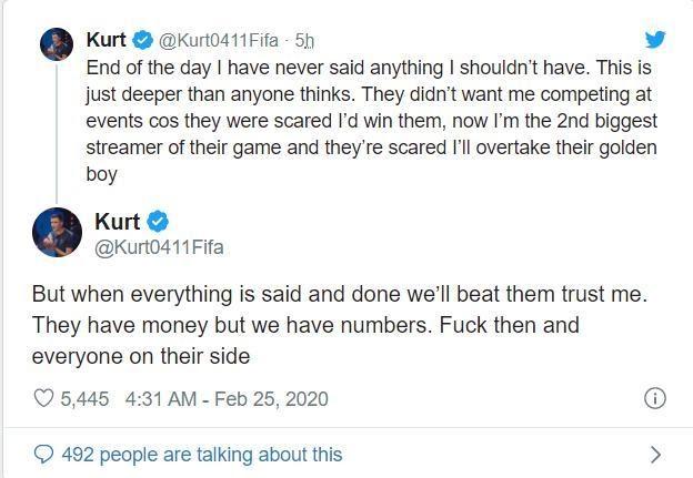 Chửi bậy khi livestream, game thủ nổi tiếng nhất nhì cộng đồng FIFA 20 bị EA cấm vĩnh viễn cả đời - Ảnh 4.