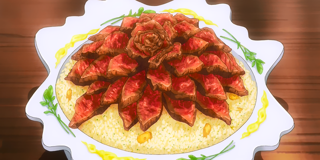 Chảy nước miếng vì 10 món ăn nhìn thấy đã thèm trong Food Wars (P.2) - Ảnh 1.