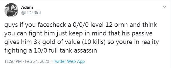 Game thủ khám phá ra sức mạnh thật của Ornn - Ông ta có thể hack 3000 vàng chỉ với việc đạt cấp 12 - Ảnh 7.