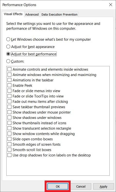 Mẹo tắt hiệu ứng để giúp Windows 10 trở nên mượt mà hơn - Ảnh 5.