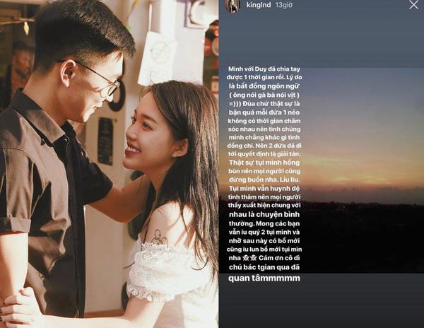 Hot streamer Linh Ngọc Đàm chia tay bạn trai đại gia: Lý do là bất đồng ngôn ngữ - Ảnh 2.