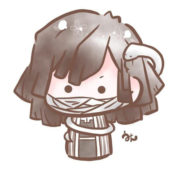Ngắm nhân vật Kimetsu no Yaiba theo phong cách búp bê ngộ nghĩnh cưng hết nấc - Ảnh 12.