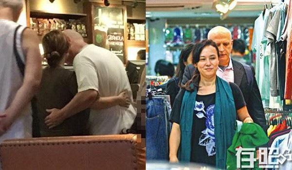 Ông Tĩnh Tinh và Hà Du Bưu từng nhiều lần bị bắt gặp tay trong tay hẹn hò.