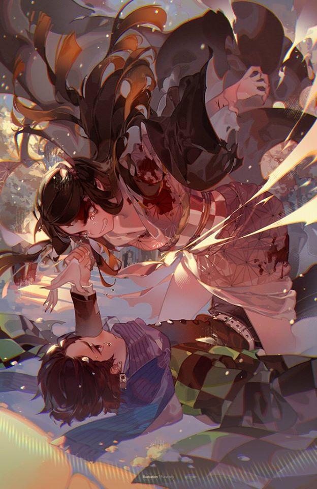 Lặng người khi ngắm bộ ảnh fan art Kimetsu no Yaiba khiến người xem yêu luôn từ cái nhìn đầu tiên - Ảnh 8.