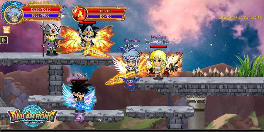 """""""Dấu Ấn Rồng Thiêng"""" - Manga huyền thoại trở lại sau 28 năm: Dai và đồng đội chuẩn bị phá đảo thế giới game? - Ảnh 8."""