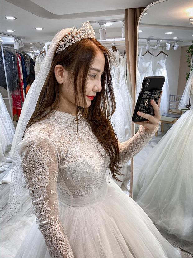Nóng: Streamer quốc dân Kiều Anh Hera bất ngờ khoe ảnh mặc váy cưới, nàng sắp lên xe hoa? - Ảnh 3.