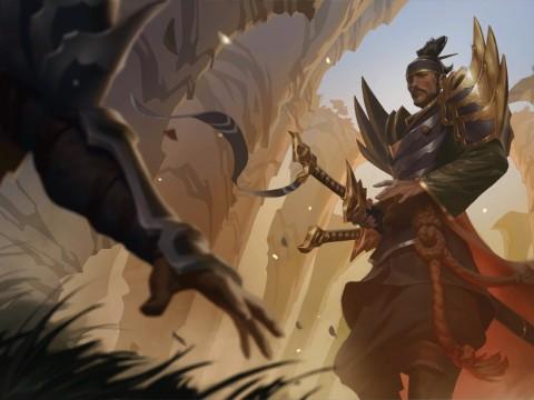 Hé lộ ba vị tướng mới sắp ra mắt LMHT: Vua Vô Danh, bộ đôi Vastaya - Yordle, anh trai của Yasuo bị Darkin nhập thể - Ảnh 2.