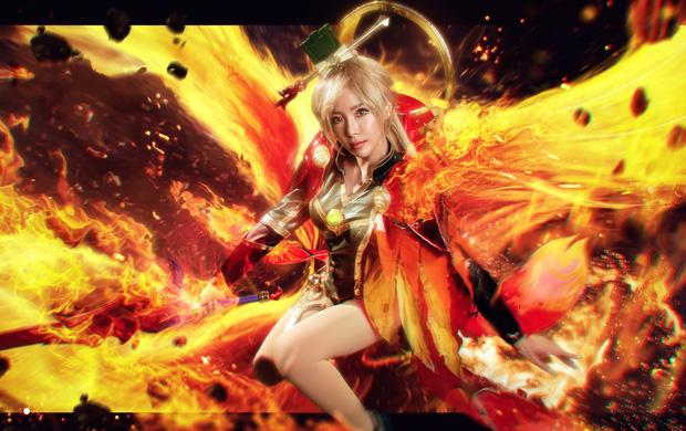 Bỏng mắt với bộ hình cosplay của nữ game thủ Liên Quân Mobile xứ Thái, Butterfly xinh thế này thì ai nỡ combat! - Ảnh 1.