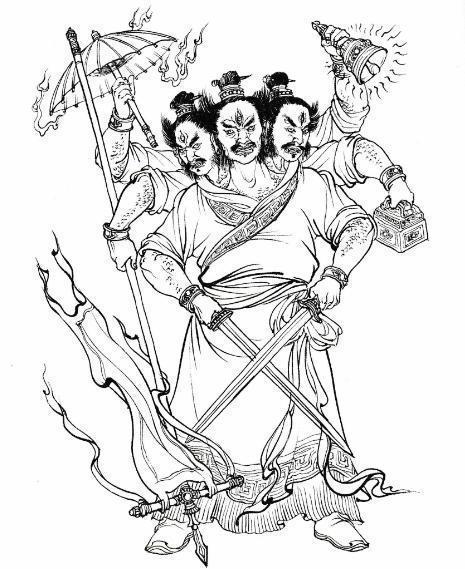 Lữ Nhạc – Ôn thần gieo rắc bệnh tật nguy hiểm trong Phong thần diễn nghĩa - Ảnh 3.