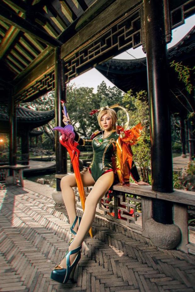 Bỏng mắt với bộ hình cosplay của nữ game thủ Liên Quân Mobile xứ Thái, Butterfly xinh thế này thì ai nỡ combat! - Ảnh 5.