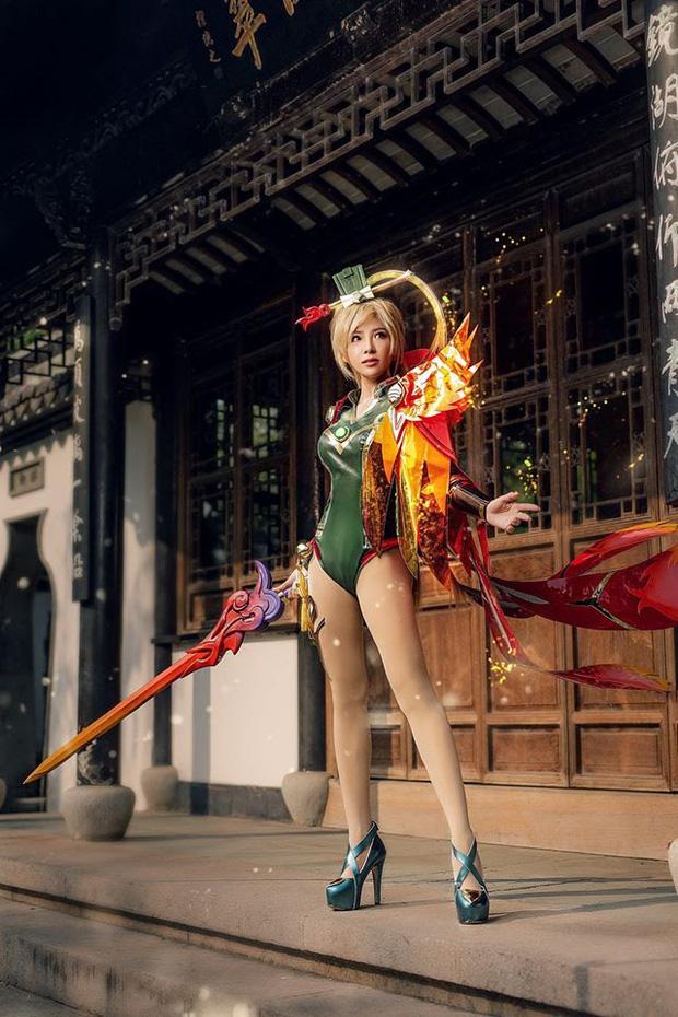 Bỏng mắt với bộ hình cosplay của nữ game thủ Liên Quân Mobile xứ Thái, Butterfly xinh thế này thì ai nỡ combat! - Ảnh 6.