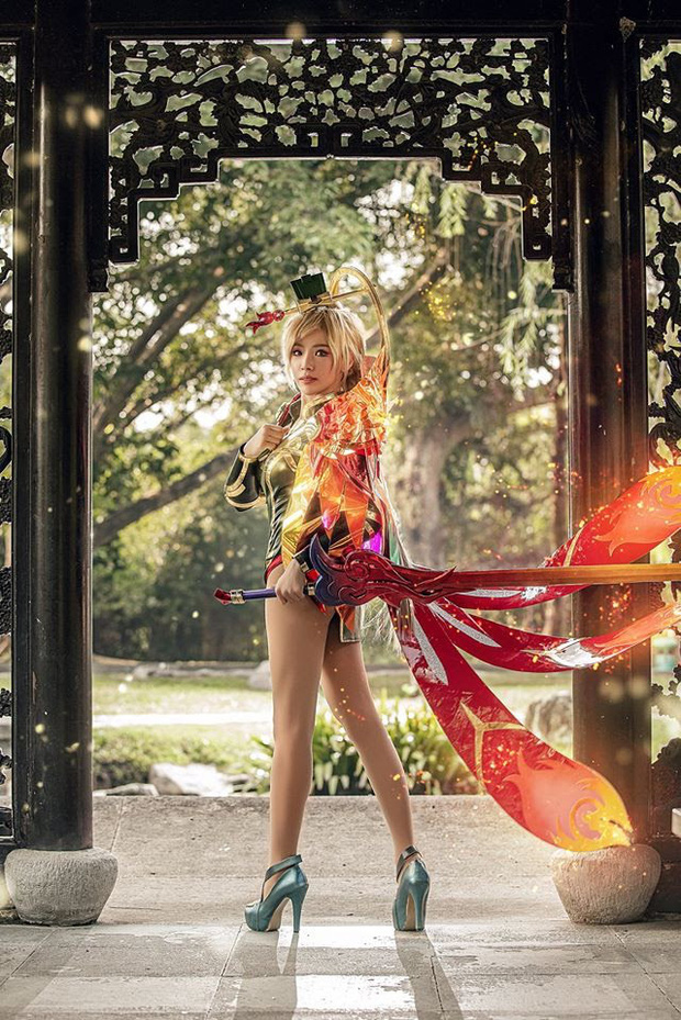Bỏng mắt với bộ hình cosplay của nữ game thủ Liên Quân Mobile xứ Thái, Butterfly xinh thế này thì ai nỡ combat! - Ảnh 9.