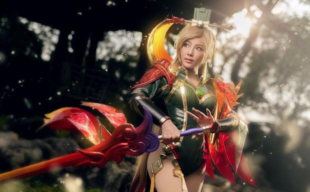 Bỏng mắt với bộ hình cosplay của nữ game thủ Liên Quân Mobile xứ Thái, Butterfly xinh thế này thì ai nỡ combat! - Ảnh 11.