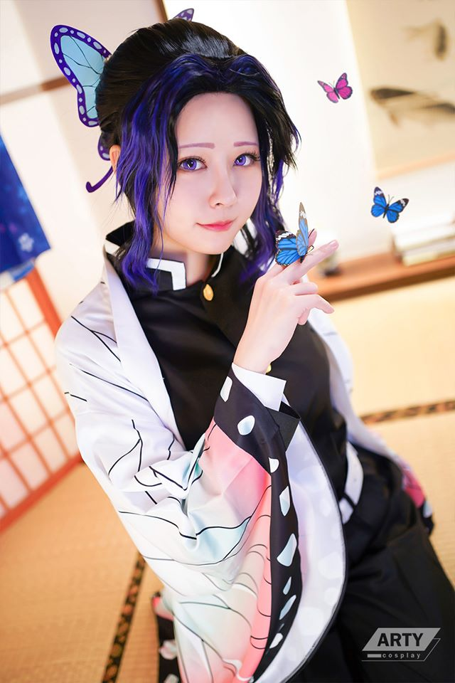 Kimetsu no Yaiba: Trùng trụ Kochou Shinobu khoe vẻ gợi cảm khó cưỡng qua loạt ảnh cosplay đẹp mê hồn - Ảnh 7.