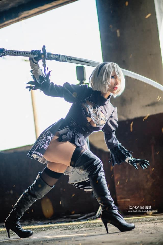 Mướt mắt khi ngắm bộ ảnh cosplay hở bạo về cô nàng 2B trong Nier: Automata - Ảnh 5.