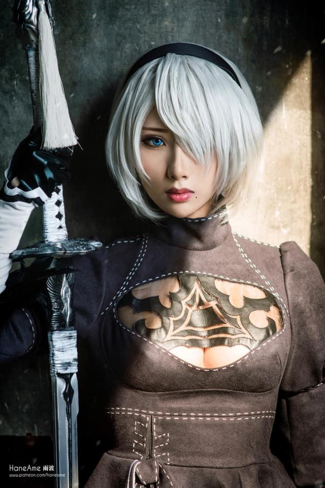 Mướt mắt khi ngắm bộ ảnh cosplay hở bạo về cô nàng 2B trong Nier: Automata - Ảnh 6.