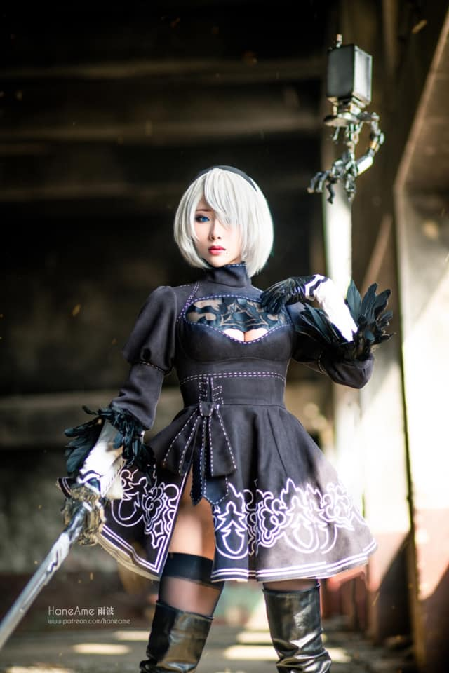 Mướt mắt khi ngắm bộ ảnh cosplay hở bạo về cô nàng 2B trong Nier: Automata - Ảnh 7.