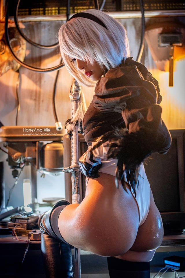 Mướt mắt khi ngắm bộ ảnh cosplay hở bạo về cô nàng 2B trong Nier: Automata - Ảnh 15.