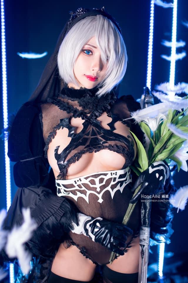 Mướt mắt khi ngắm bộ ảnh cosplay hở bạo về cô nàng 2B trong Nier: Automata - Ảnh 4.