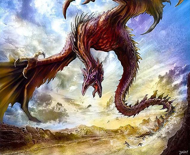 Những chủng loài rồng siêu hầm hố trong truyền thuyết mà bạn chưa bao giờ nghe tên - Ảnh 3.