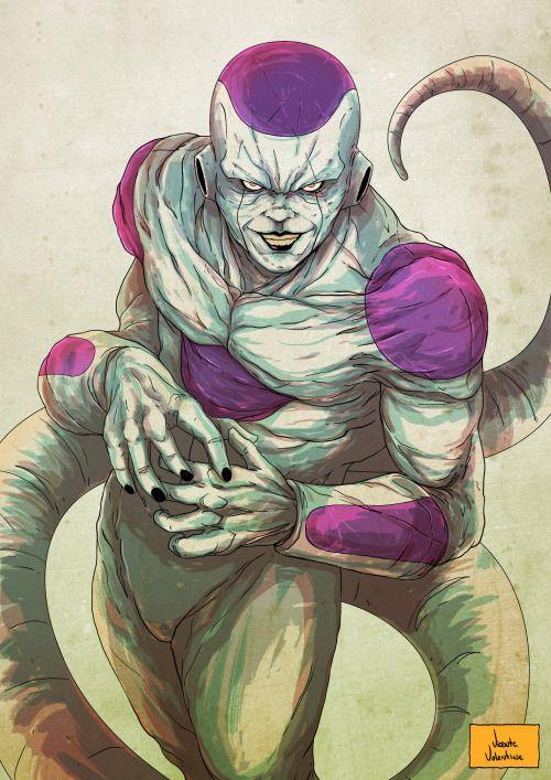 Dragon Ball: Hết hồn khi thấy ác nhân Frieza được vẽ theo phong cách kinh dị dọa nạt người xem - Ảnh 5.