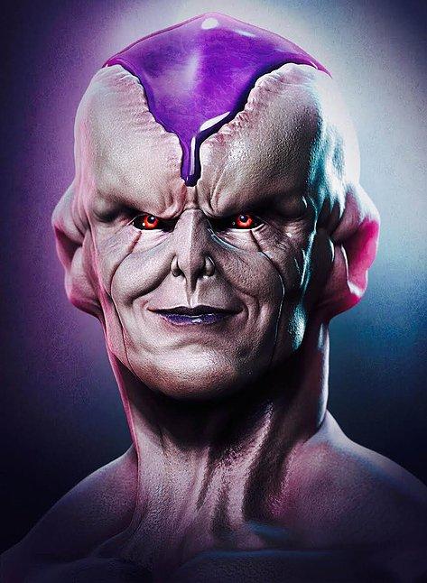Dragon Ball: Hết hồn khi thấy ác nhân Frieza được vẽ theo phong cách kinh dị dọa nạt người xem - Ảnh 16.