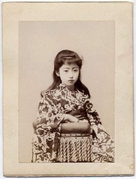 Nhan sắc chim sa cá lặn của các phi tần và người đẹp Nhật Bản cuối thế kỷ 19 - Ảnh 14.