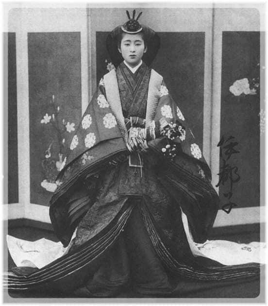 Nhan sắc chim sa cá lặn của các phi tần và người đẹp Nhật Bản cuối thế kỷ 19 - Ảnh 5.