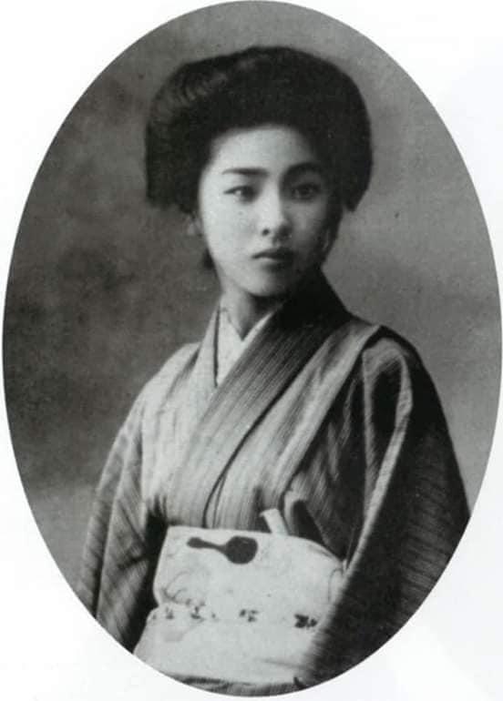 Nhan sắc chim sa cá lặn của các phi tần và người đẹp Nhật Bản cuối thế kỷ 19 - Ảnh 11.
