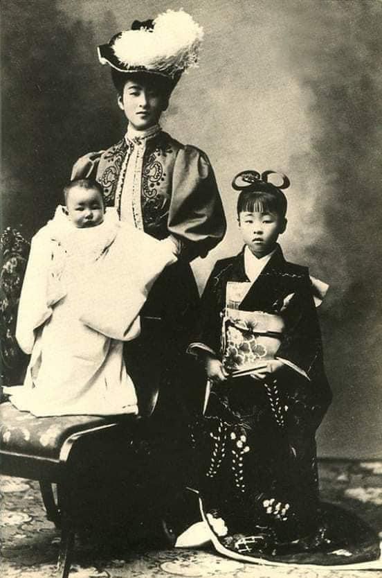 Nhan sắc chim sa cá lặn của các phi tần và người đẹp Nhật Bản cuối thế kỷ 19 - Ảnh 7.