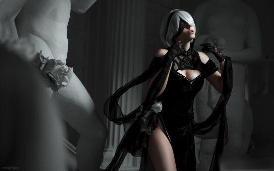 Bỏng mắt, ngất ngây với bộ ảnh cosplay 2B sexy và đẹp nhất trong lịch sử - Ảnh 4.