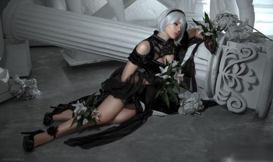 Bỏng mắt, ngất ngây với bộ ảnh cosplay 2B sexy và đẹp nhất trong lịch sử - Ảnh 6.
