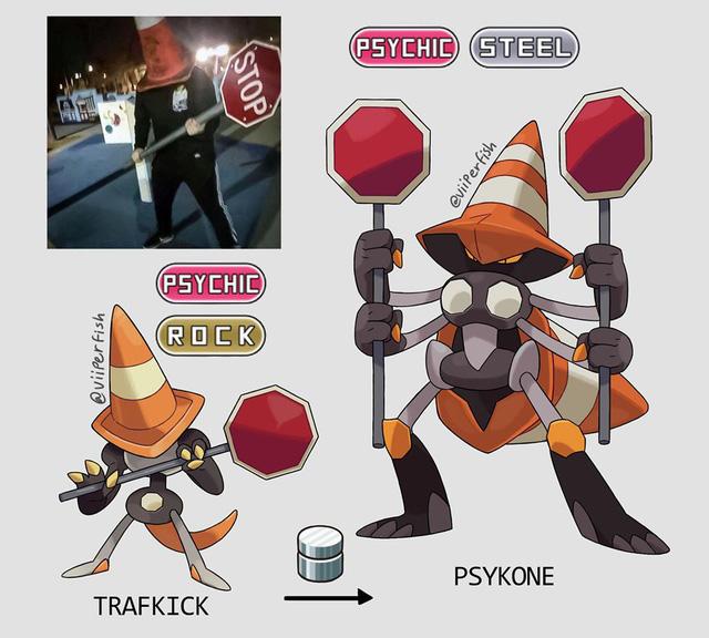 Loạt tranh Pokemon chế siêu độc được sáng tạo ra từ ảnh meme trên Internet - Ảnh 3.