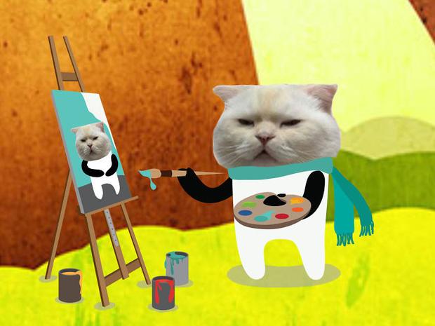 Ai đó yêu cầu vẽ một con mèo theo mẫu và cư dân mạng được dịp chơi tới bến cùng sự sáng tạo - Ảnh 2.