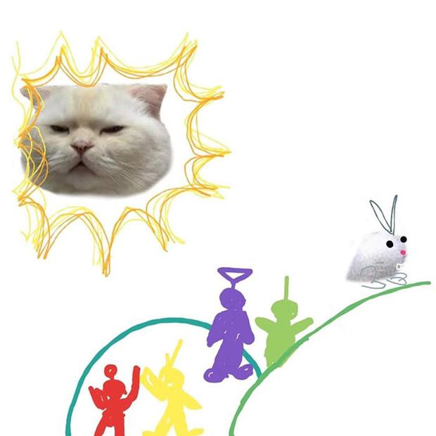 Ai đó yêu cầu vẽ một con mèo theo mẫu và cư dân mạng được dịp chơi tới bến cùng sự sáng tạo - Ảnh 6.