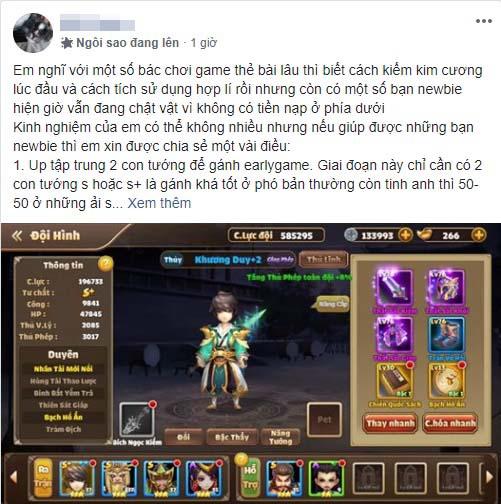 """Vượt mặt nhiều game nhập vai, Tam Quốc Tốc Chiến vinh danh Top 1 BXH: Ai nói thẻ tướng """"kén"""" người chơi? - Ảnh 8."""
