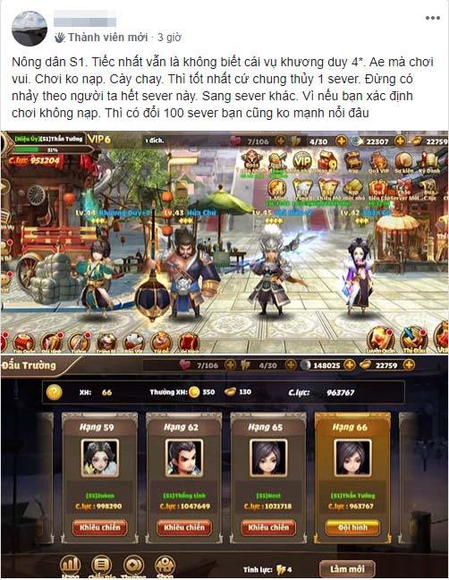 """Vượt mặt nhiều game nhập vai, Tam Quốc Tốc Chiến vinh danh Top 1 BXH: Ai nói thẻ tướng """"kén"""" người chơi? - Ảnh 9."""