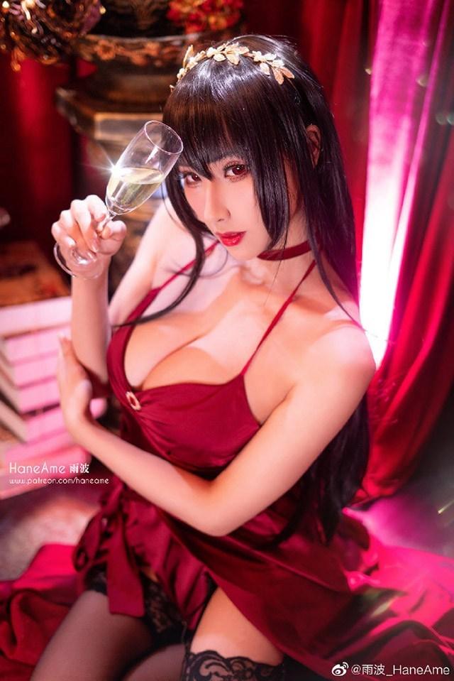 Lịm tim khi ngắm ảnh cosplay nàng waifu nổi tiếng trong tựa game mobile Azur Lane - Ảnh 9.
